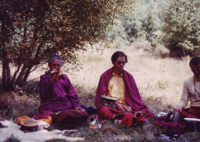 Lama Tönsang und Lama Lekshe 1983
