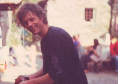 Gerard beim Abwasch 1983