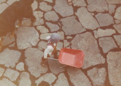 Einweihung Piazza Milarepa 1983