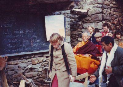 Kalu Rinpoche Februar 1985