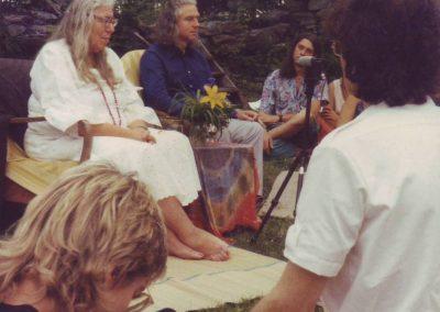 Dina Rees und Hermann 1988
