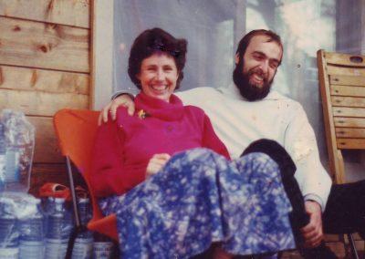 Irene und Tillmann Mai 1988