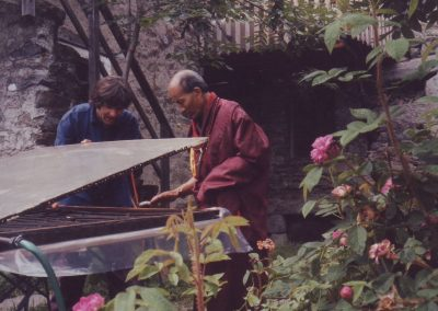 Besuch von Lama Chang Chub Herbst 1992