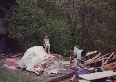 Stupaplatzumbau 1992 Bubu