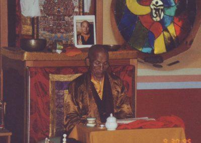 Lama Chang Chub 1995