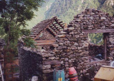 Umbau Dharmahaus 1997