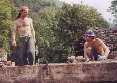 Baumonat 1997 Peter und Norbert