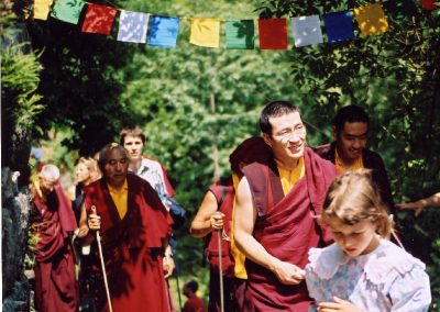 Karmapa in Bordo 2004