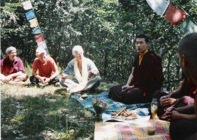 Karmapa auf Piazzana 2004