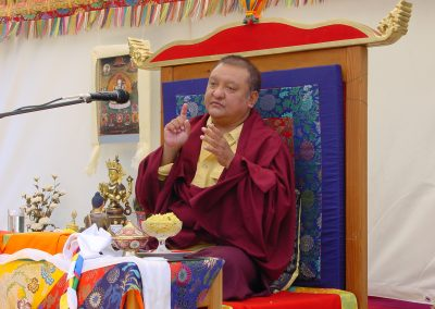 Shamarpa in Bordo 2006