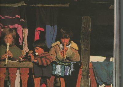 Die kleinen Flötenspieler von Bordo 1991