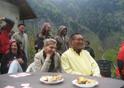 Threor Lama, Künsang, Bhakti, Peter 2009