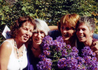 Frauenwoche 2009 Tine, Marisa, Kathleen, Gertrud