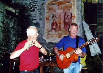2010 Fest von Tine und Jodok, Gerard und Bernd
